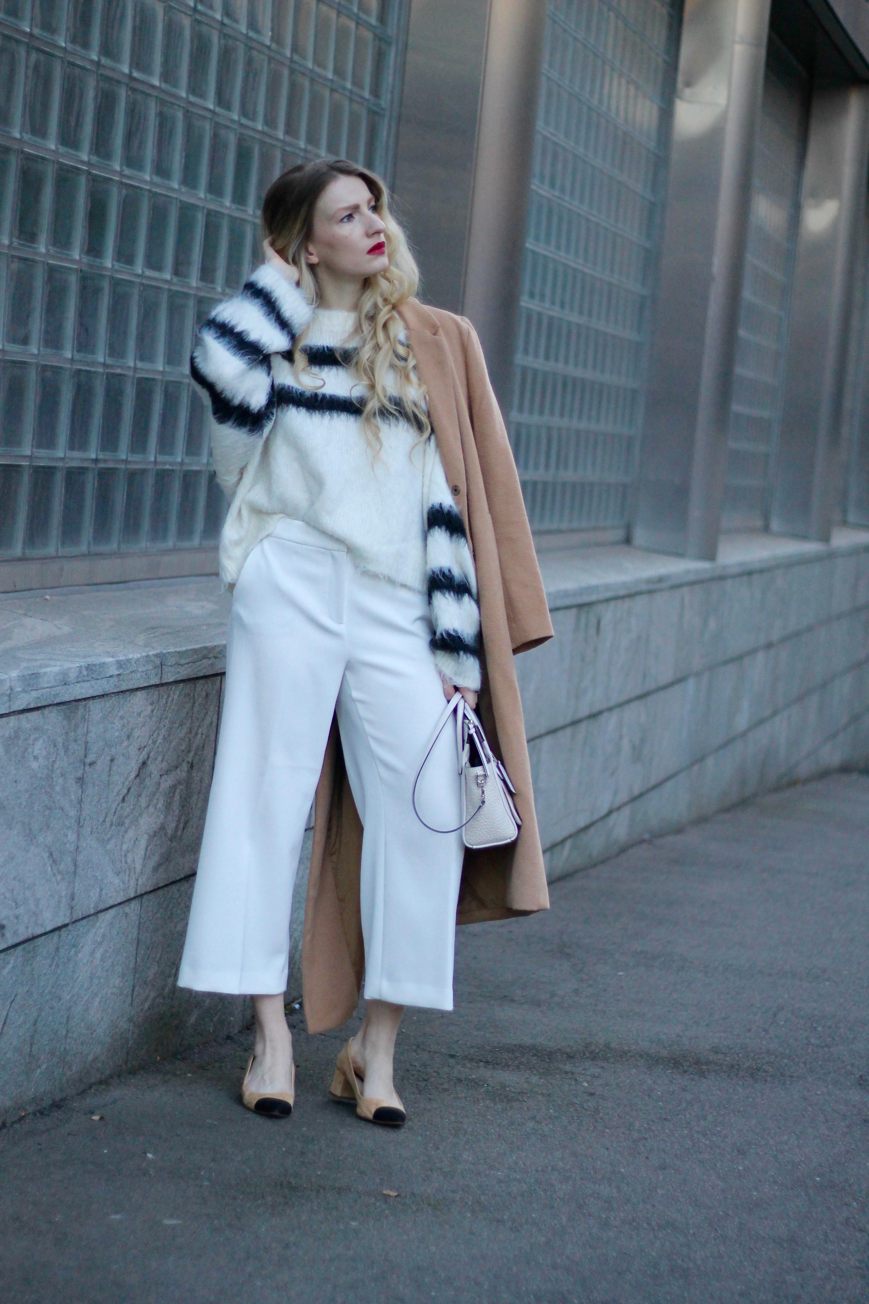 MON MODE | Fashion Blogger | Berlin Street Style | Oslo | Monochrome Vibes | Culottes