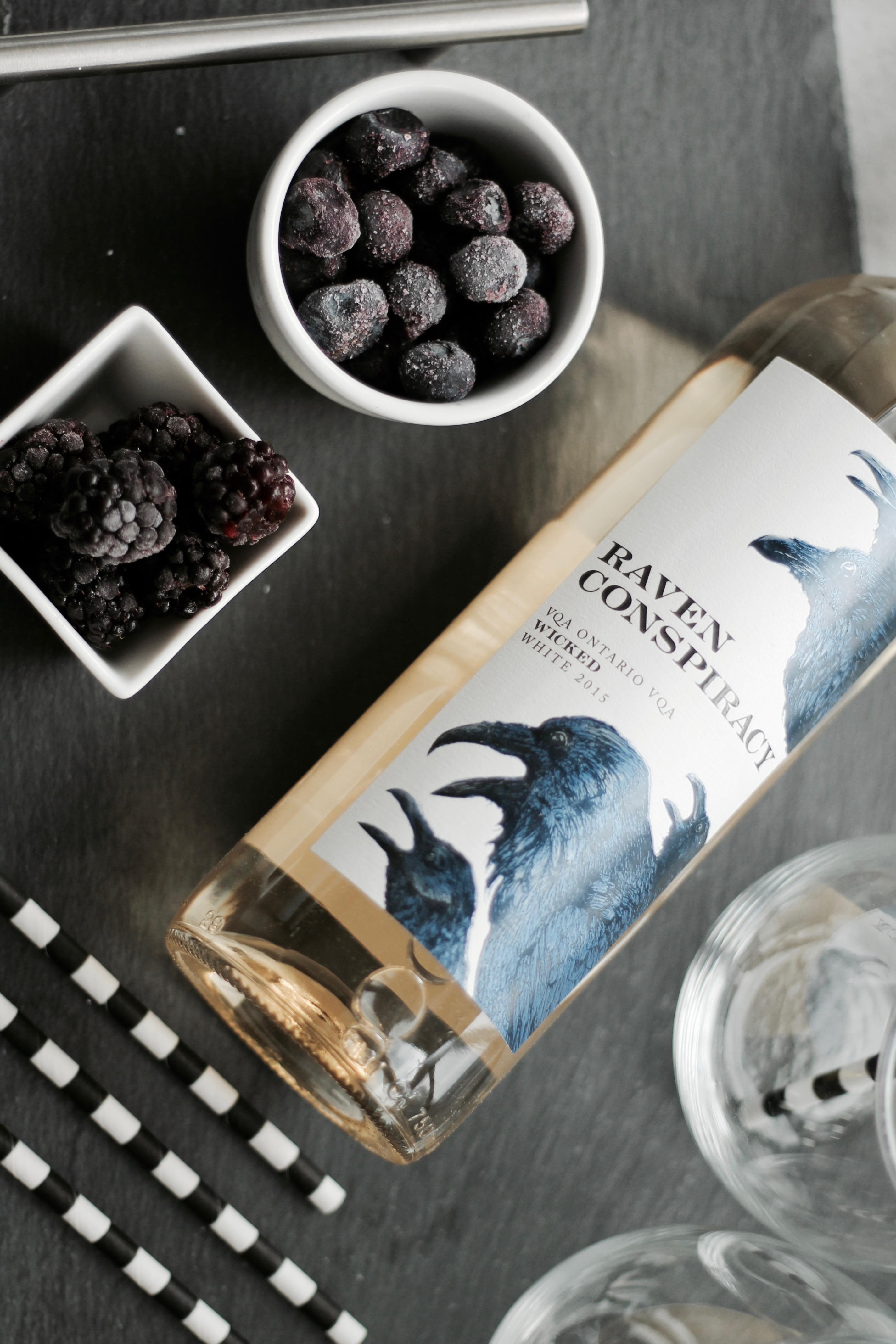 MON MODE Blog | Mon Mode | Fashion Blog | Toronto Blogger | Wine Cocktail | Wine Popsicle Cocktail | Raven Conspiracy
