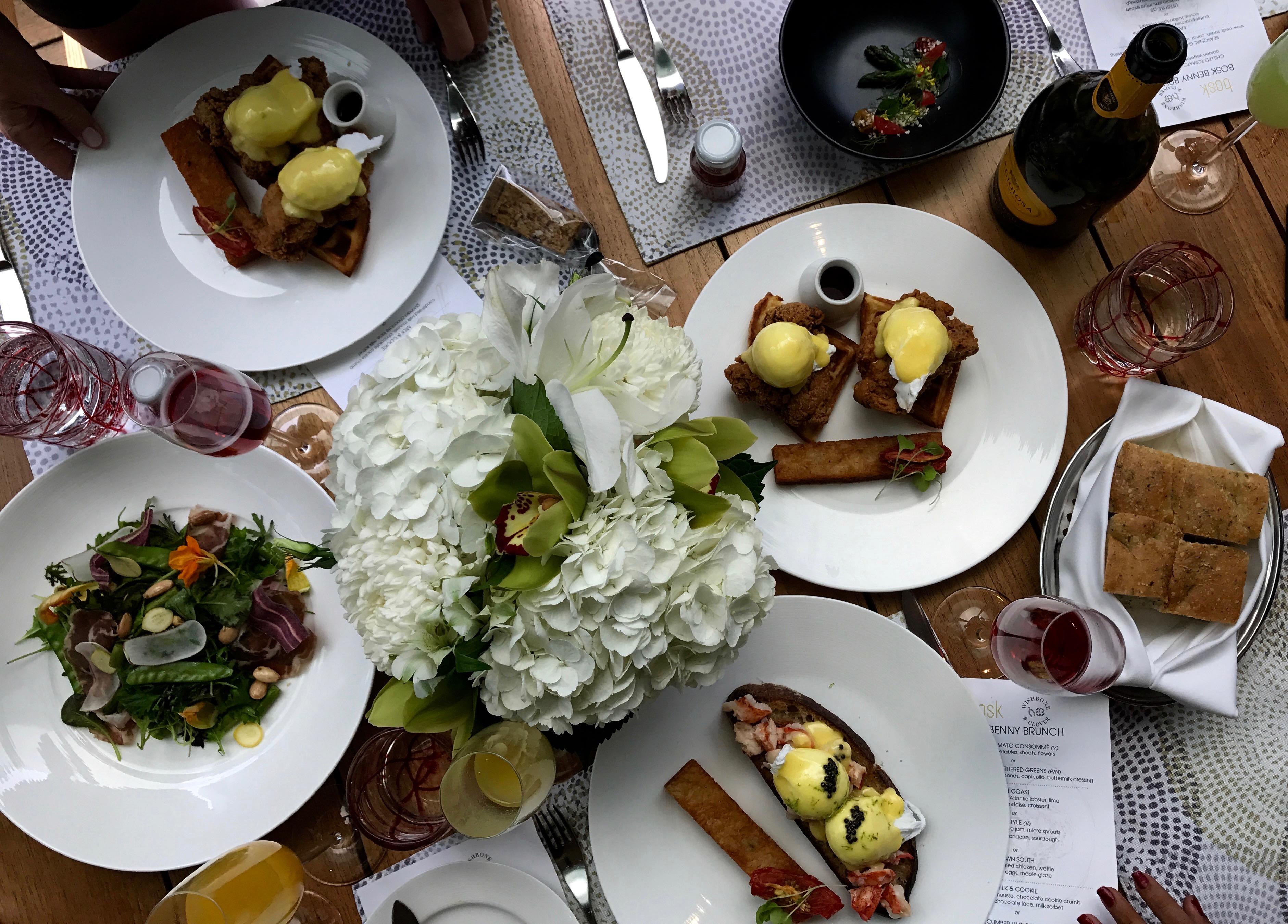 MonMode | Brunch | Eggs Benedict | Bosk | Shangri La Toronto