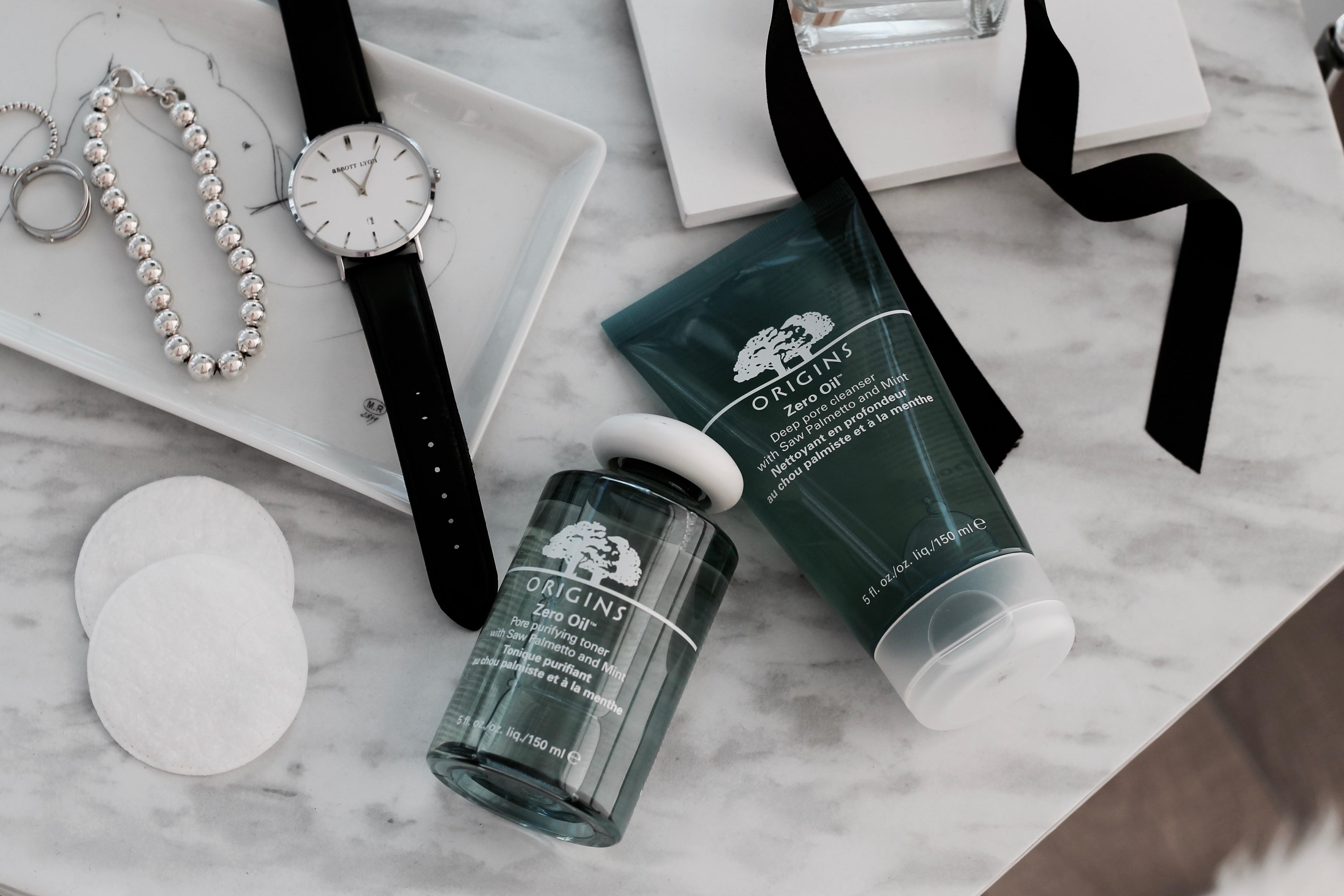 MON MODE Blog | Mon Mode | Fashion Blog | Toronto Blogger | Summer Skincare Routine | Origins Zero Matte