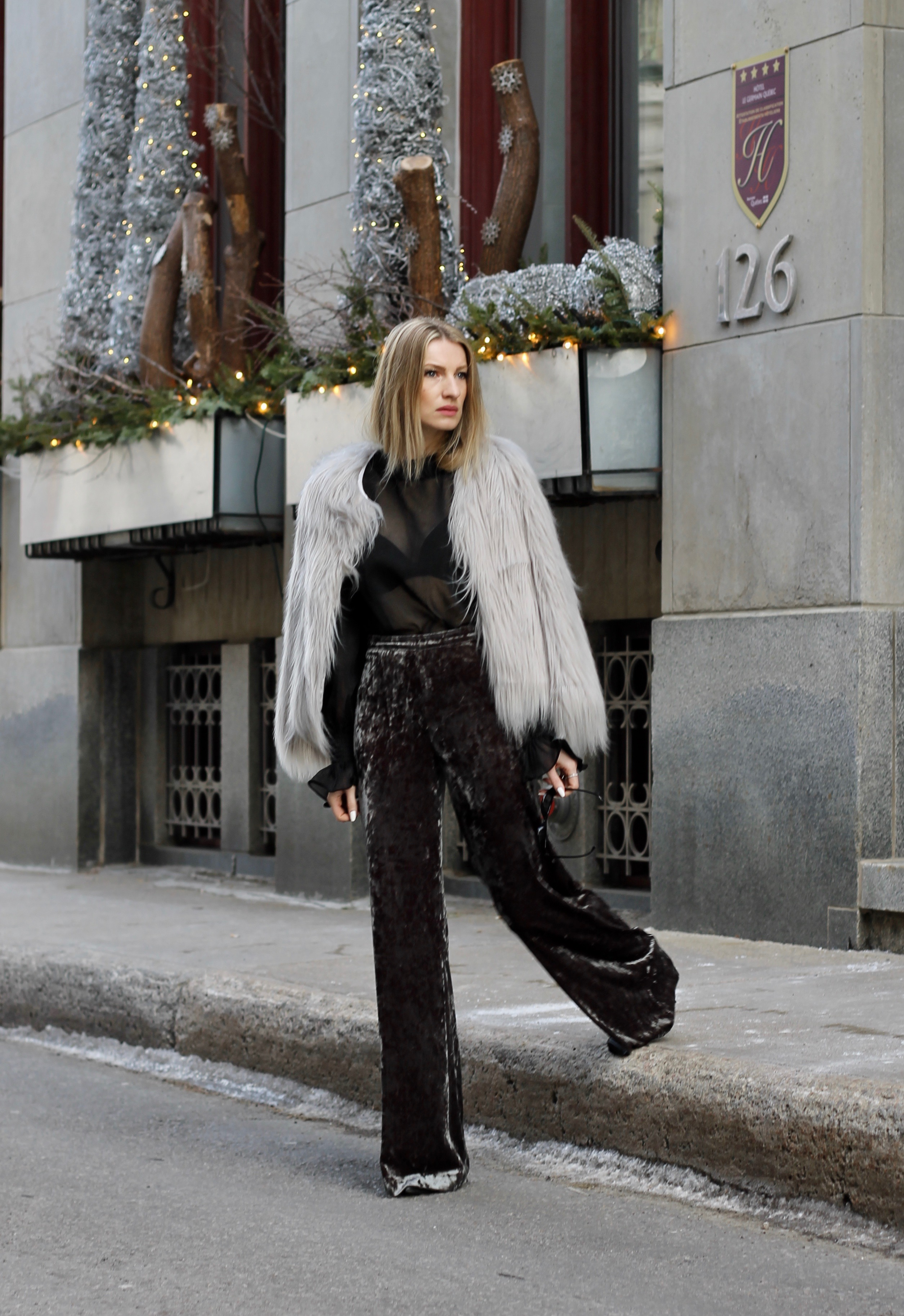 MON MODE Blog | Mon Mode | Style Blog | Toronto Blogger | Fall 2017 Trends | Ruffle | Denim Culottes